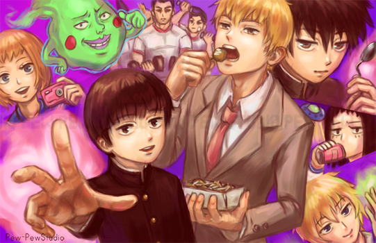 Mob Psycho 100 by Pew-PewStudio