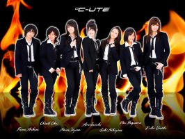 C-ute Fire by NEO-Musume