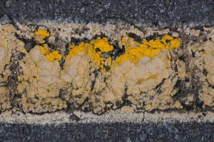 01- Old paint in a Parkinglot by JoeCorreia