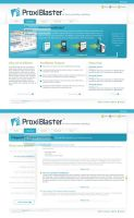 ProxiBlaster Interface by sinthux