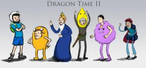 Dragon Time II by visiblespectre