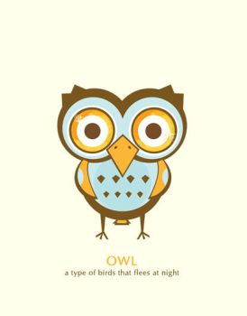 light insomnia owl by melaniolivia