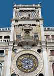 San Marco Sundial and Lion Facade by JJPoatree
