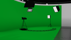 Greenscreen Studio by raegar