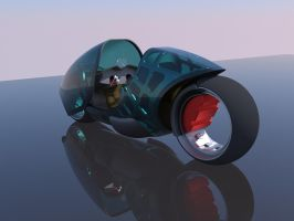 Futuristic superbike5 by Scifiwarships