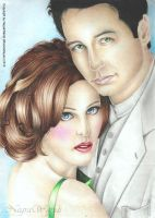 Mulder i Scully by NegraWaridi