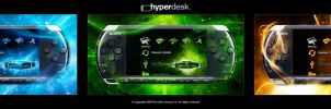 Hyperdesk DM PSP Theme Preview by skinsfactory