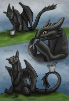 Toothless by MaryDec
