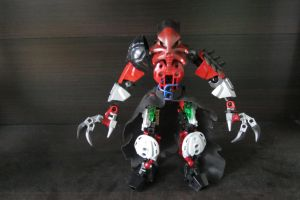 Asher: Corrupt Toa of Fire (Front) by ToaJalokim