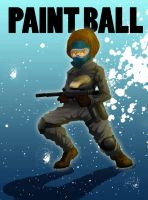 paint ball by ARTOON