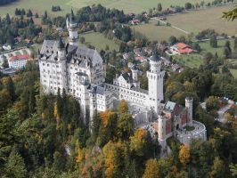 Neuschwanstein by gabtu