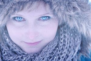 Blue eyes by Justysiak