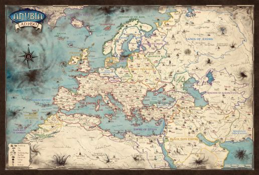 Anubia map for Shadow Lords RPG by Erebus-art