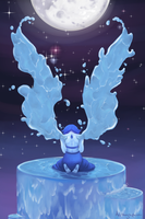 Winged Lapis by Alithographica