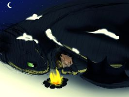 Dark Cold Night - HTTYD by DannyPhantomAddict
