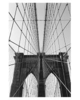 the brooklyn bridge by silvergelatin