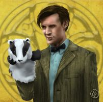 Badgers Are Cool by MBrainspaz