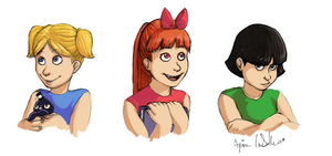 Powerpuff Girls real lifed by Yanimae