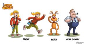 INSPECTOR GADGET Characters 2 by VdVector
