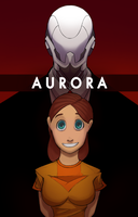Aurora Comic Book Cover by RAVNXI