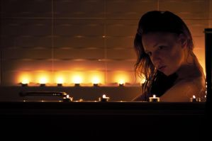 bath by candle light by ChrissieRed