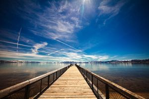 Lake Tahoe by JunKarlo