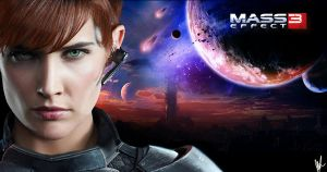 Shepard Mass Effect by Hawke27