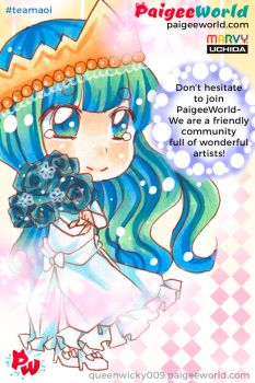 PaigeeWorld Team Aoi! by queenwicky009