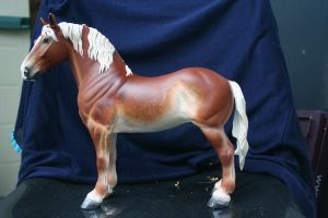 Customized huge Noriker horse by yavanna-niniach
