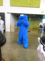 Fanime 2012: Cookie Monster by K-ayu
