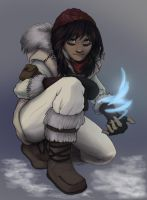 Snow bandit girl by Echoic