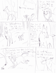 Suicidal Ambitions -Sketch Comic- by Songdog-StrayFang