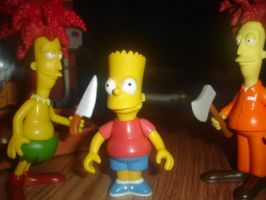 Bart's Worst Nightmare by sclirada