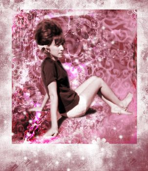 sixties pink by nikiljuice