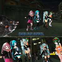 MMD Rat Patrol by Trackdancer