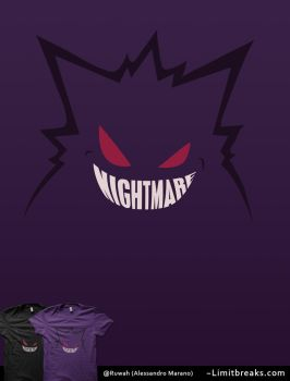 Nightmare [Gengar Minimal, Pokemon] by Ruwah