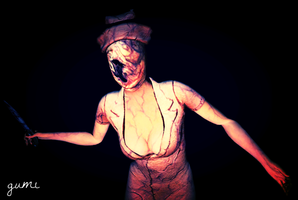 The nurse. by gumitwerk