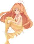 Mermaid Melody Art Collab by KaitouCoon