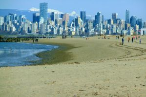 Spanish Banks Vancouver by WestSideofMidnight