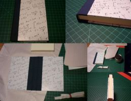 Graph Paper Notebook by usagibrian