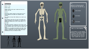 Undead mob sheet by Chradi