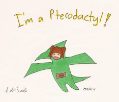 I'm a Pterodactyl by ToxicVampire6606