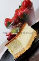Strawberry Cake by AndreasBonzai