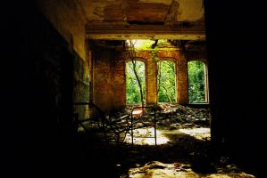 ancient hospital 10 by Nature-of-Decay