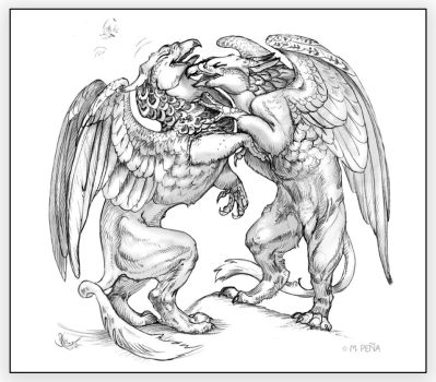 Play Fight Griffins by Reptangle