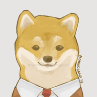 Business Doge by momochanx