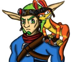 Jak and Daxter fan art by rtfs1