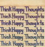 Think Happy Thoughts by TheTalkativeMime