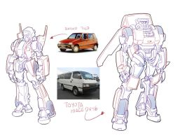 Transformers sketch 02 by bokuman