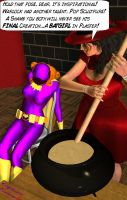 Batgirl's about to get plastered by CaptainZammo